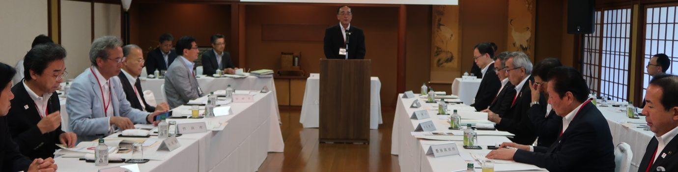 大分県市長会秋季定例会を開催しました。